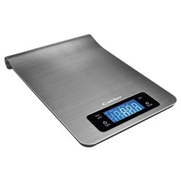 Digital kitchen scale Catler KS 4010  is provided by a touch screen panel and an extra large LED illuminated display which makes operation so easy.