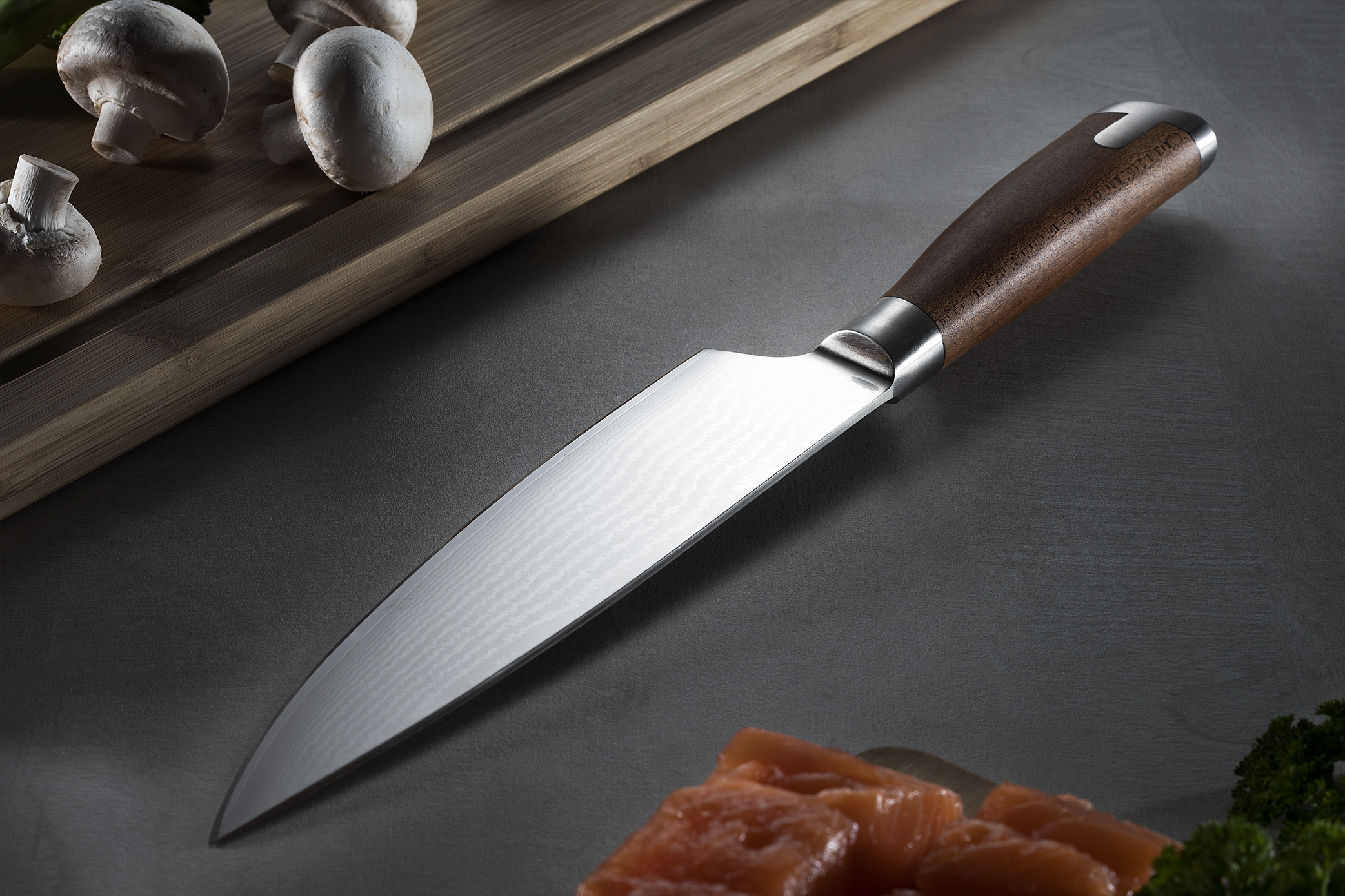 Universal Gyuto-style kitchen knife