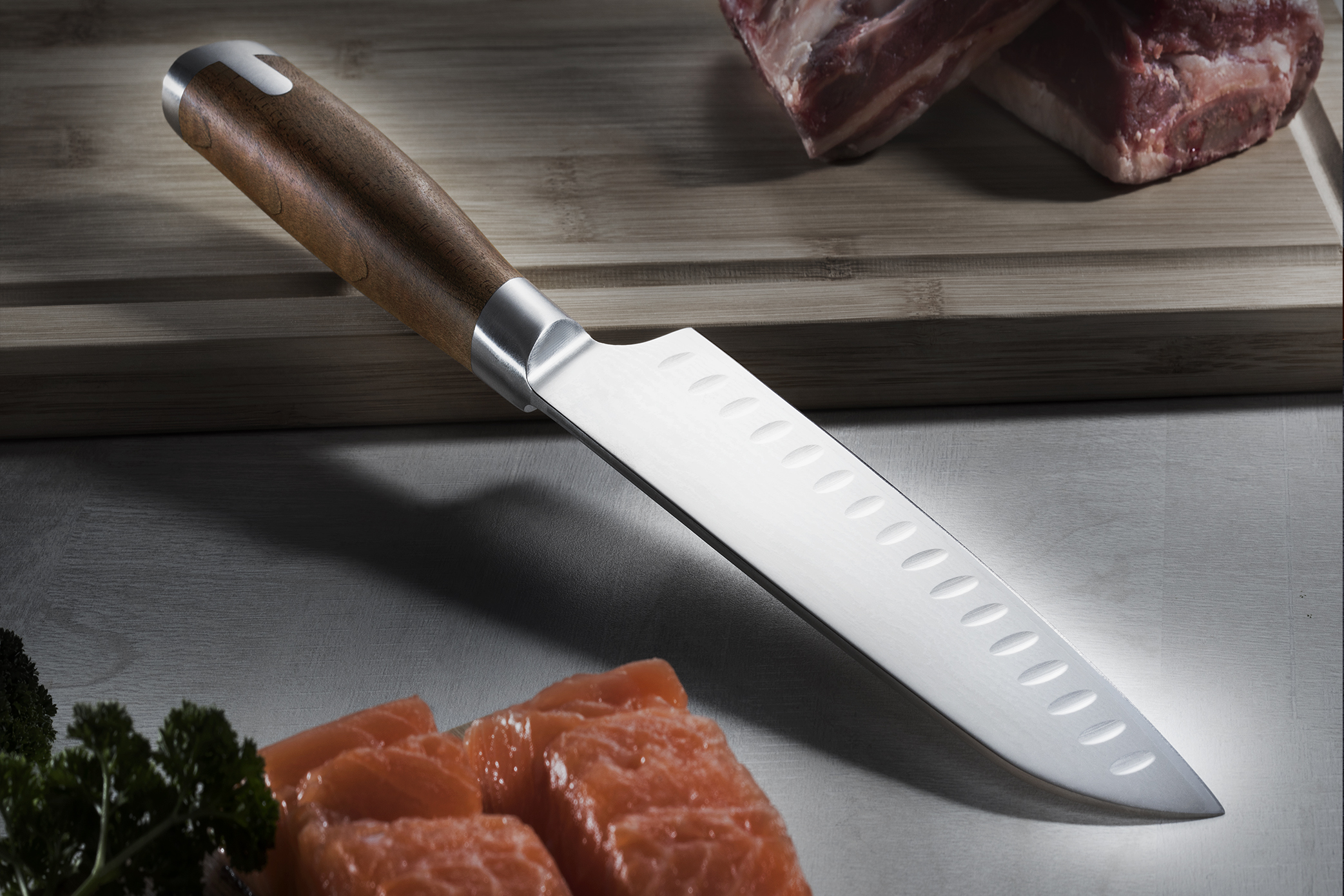 Japanese Santoku knife