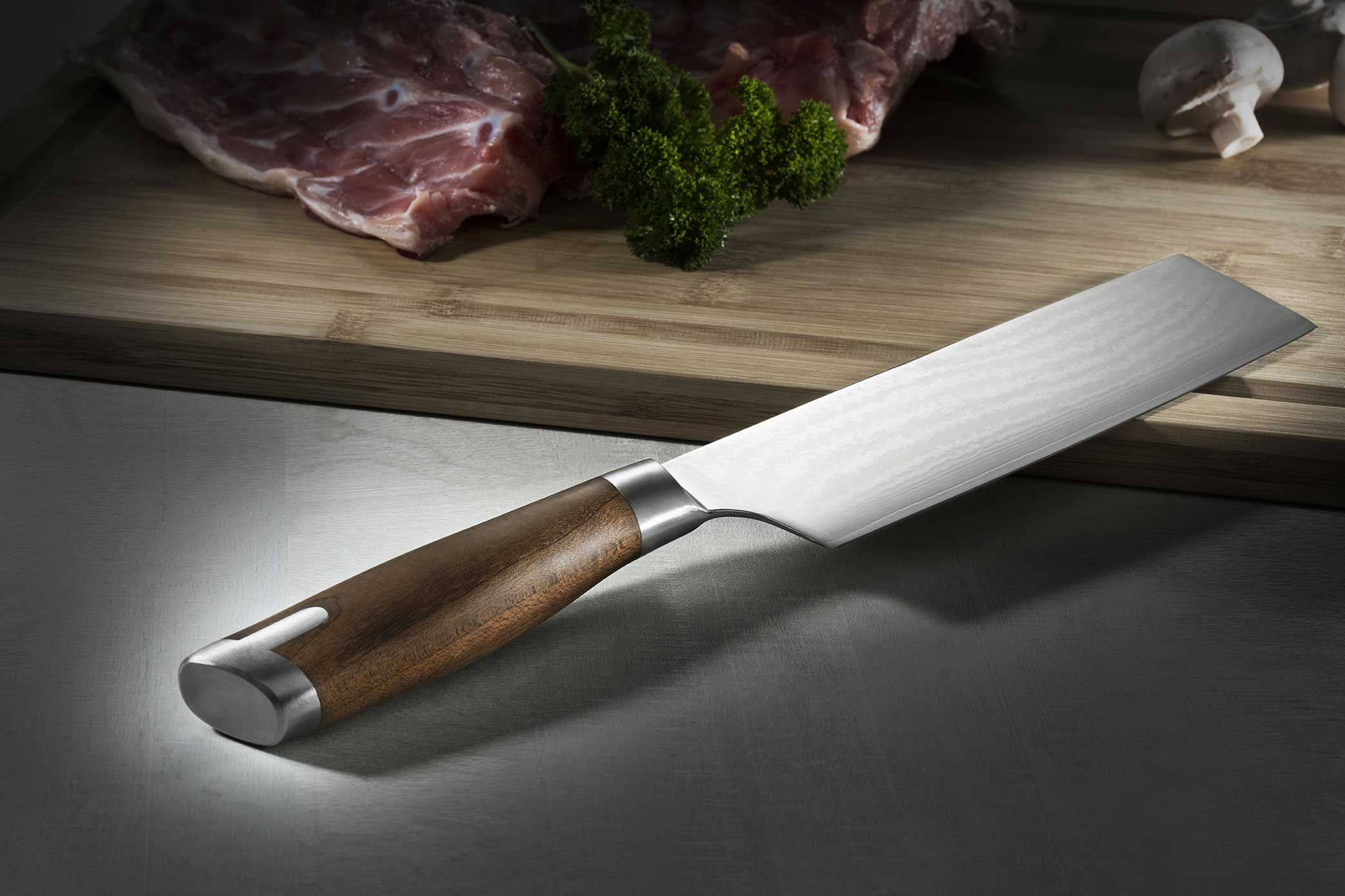 Japanese kitchen cleaver
